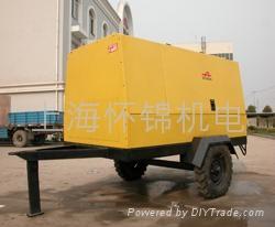 上海(德斯兰)干式无油螺杆空压机 4