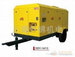 重慶德斯蘭柴油移動螺杆空壓機經銷商
