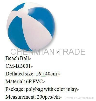 Colorful Beach Ball(CM-BB003) 2