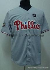 团体运动棒球服数码印花 比赛服热转印