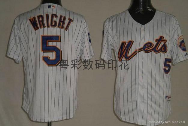 Group sports wear digital printing baseball clothing heat transfer printing 3