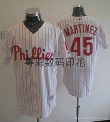 Group sports wear digital printing baseball clothing heat transfer printing