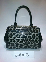 2014 new leopard leather bags and leather shoulder bag major suit