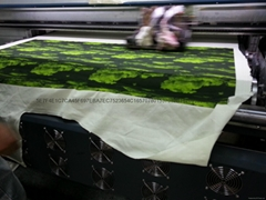 真丝活性数码印花 纯棉T恤直喷印花 服装布匹印花
