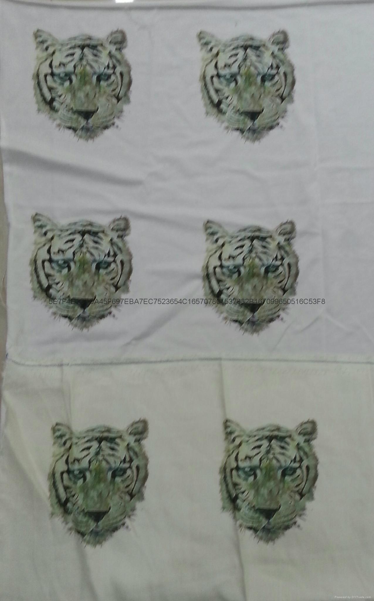 Active digital printing silk cotton T-shirt Di garment printing cloth printing 7