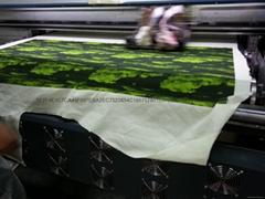 Cotton cotton cloth digital printing digital printing inkjet printing of silk