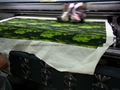 Cotton silk fabric digital printing
