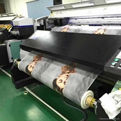 Digital printing on cotton knitted silk garment printing digital jet printing