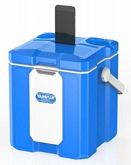 NEW 12L multi-functional cooler box with bluetooth speaker