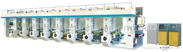 Computer High Speed Gravure Printing Machine ( Three Motors) 1