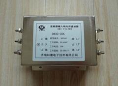 HK和康DN3C-15A變頻器干擾專用輸入濾波器7.5kw