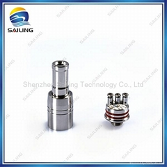 Colorful dual coil A6 atomizer from Sailing