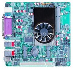 雙千兆網卡D2550廣告機主板
