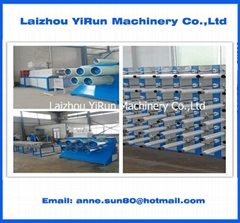 plastic round yarn machine