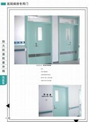 醫院走廊門