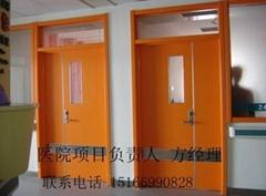 綠色環保抗菌醫院專用門