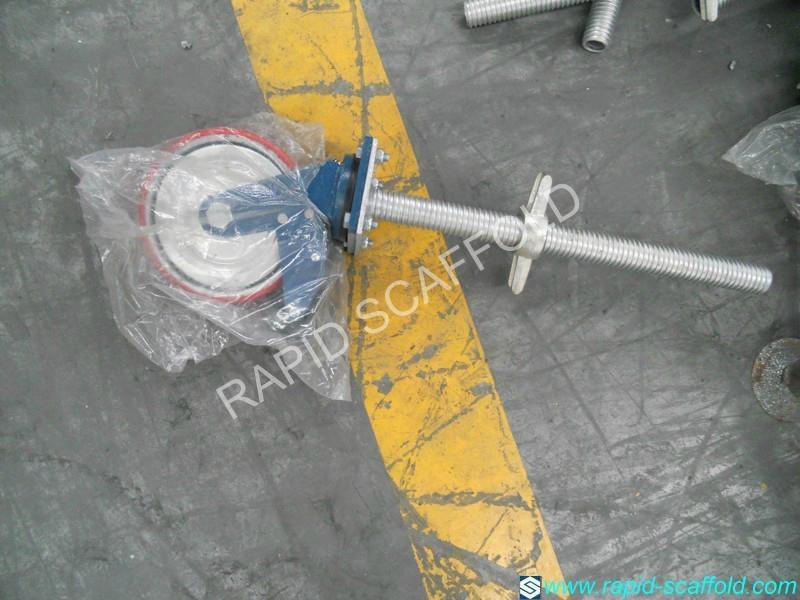 scaffold caster 1