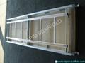 Aluminum wood plank