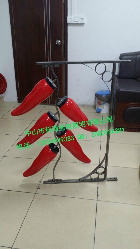 道路燈杆安裝LED發光中國結燈 3
