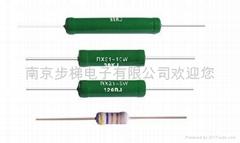 直插式被漆线绕电阻器RX21