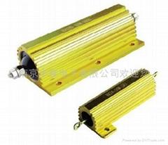 金黄色铝外壳线绕电阻器RX24