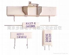 瓷壳水泥线绕电阻器RX27