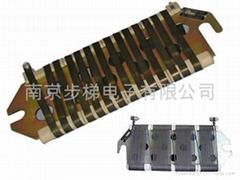 ZB板形线绕电阻器