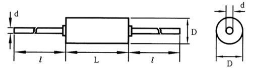 0.01%高精度精密电阻RX70-1/4W 2