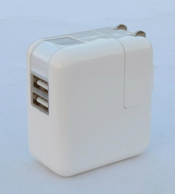 双USB充电器带中日美式插头 2