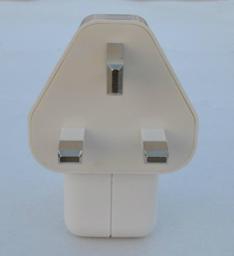 Dual USB charger with UK plug 4
