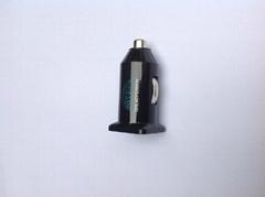 单USB车载充电器(黑色)