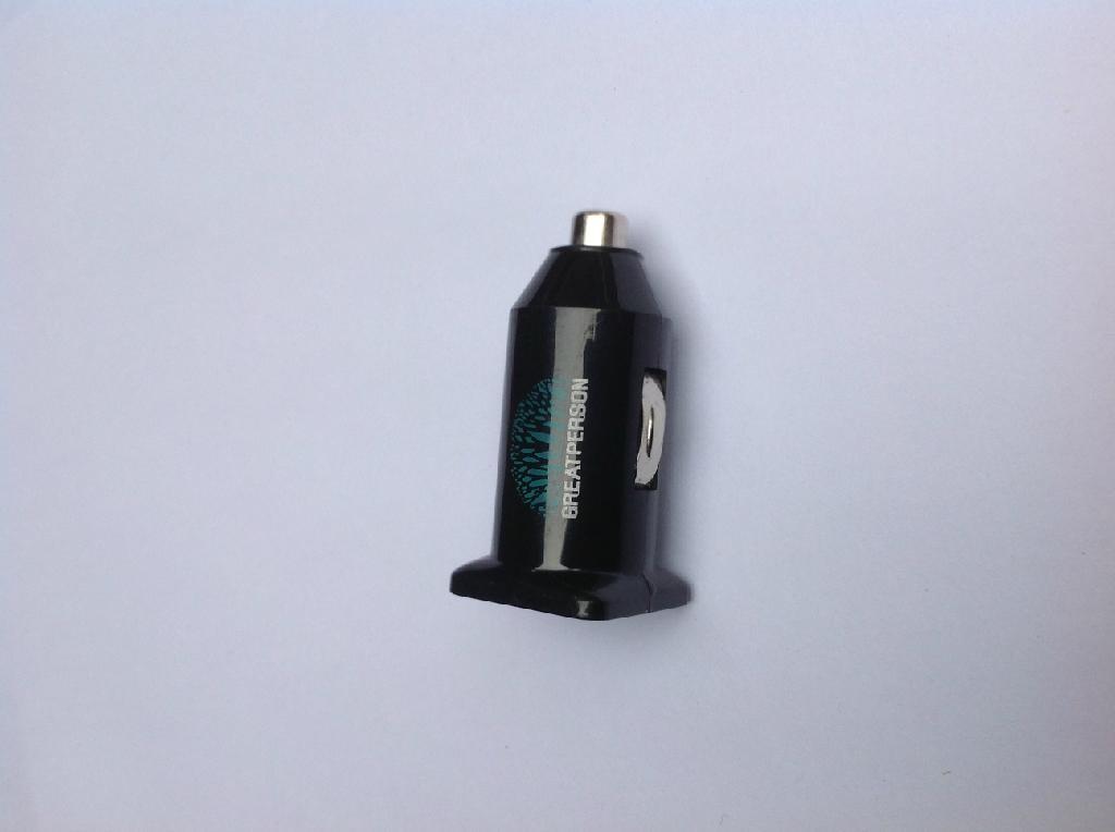 双USB车载充电器(黑色) 2