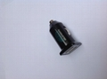 Dual USB car charger (in black) 5