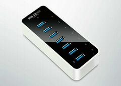 USB3.0七口HUB集线器  GU3037A