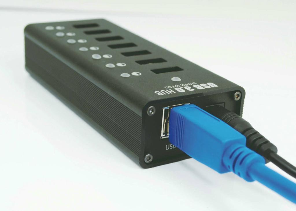 USB3.0HUB 7 PORT   GU3037C 1