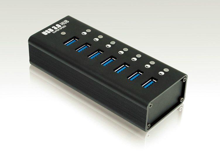 USB3.0HUB 7 PORT   GU3037C 2