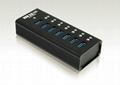 USB3.0七口HUB集線器 GU3037C 2