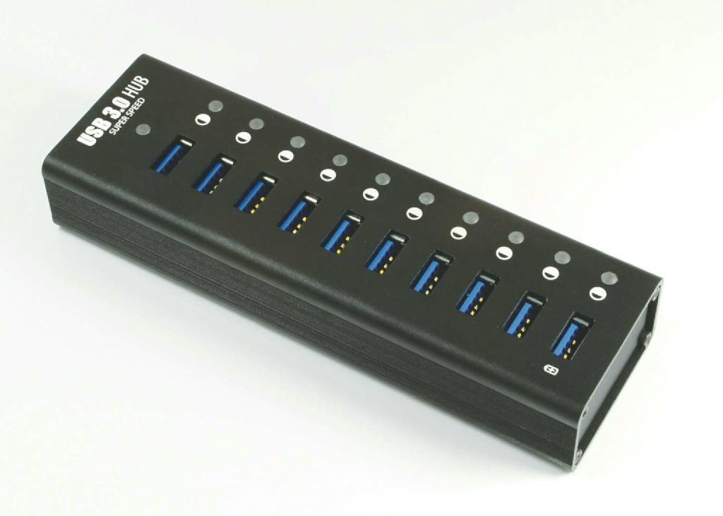 USB3.0HUB 7 PORT   GU3038B 1