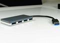 USB3.0 四口集线器 GU