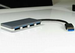 USB3.0 四口集线器 GU3031A