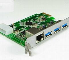 USB3.0 PCI-E轉接卡  GP3019A