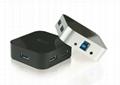 USB3.0 四口集線器 GC0012A  2
