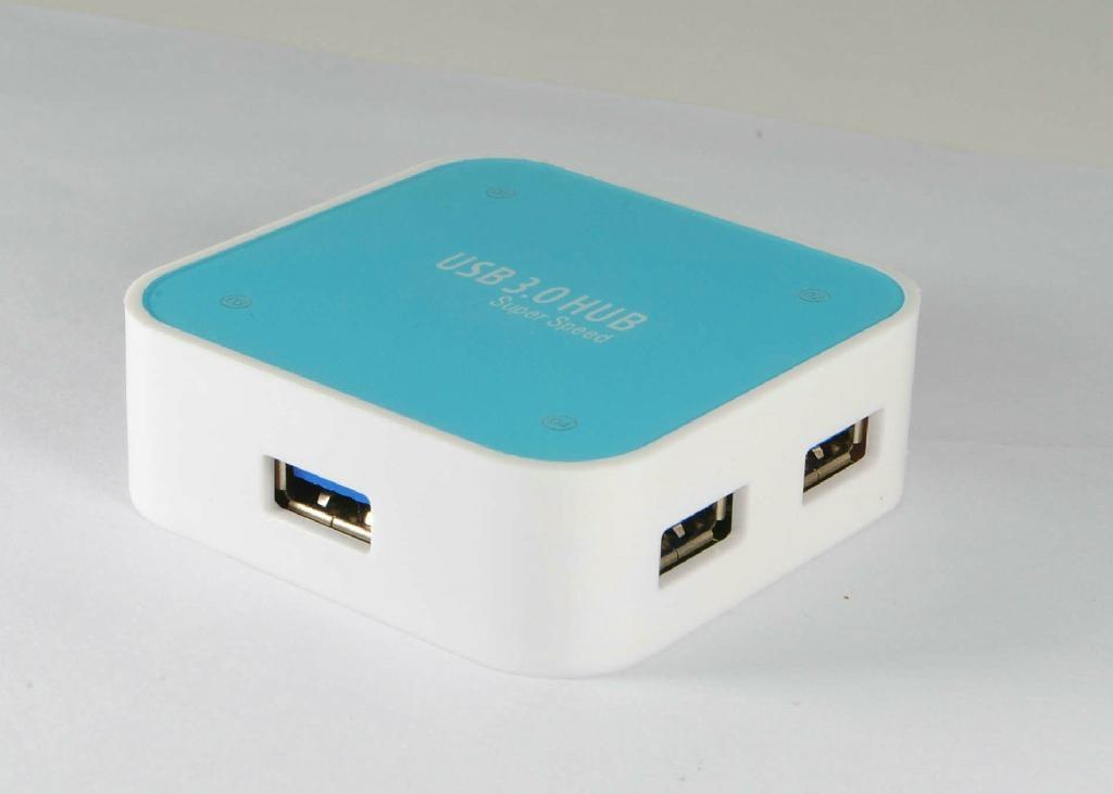 USB3.0 四口集線器 GC0012B  2