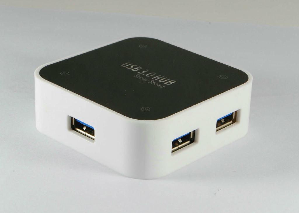USB3.0 四口集線器 GC0012B  5