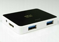 USB3.0HUB 4-PORT    GU3020A