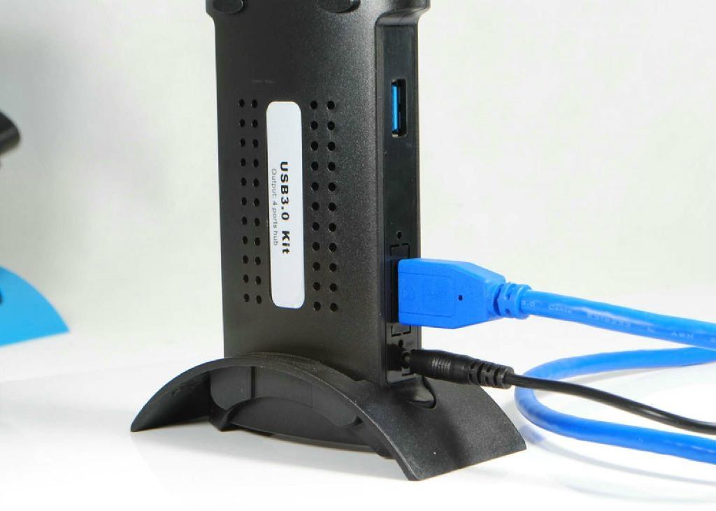 USB3.0 四口集线器 GU3021B  4