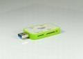 USB3.0多功能讀卡器 GC3008A  3