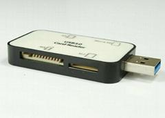 USB3.0多功能讀卡器 GC3008A