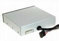 USB3.0內置Hub+USB2.0六卡讀卡器 GC006A-3.0  2