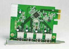 USB3.0 PCI-E轉接卡  GP3018A